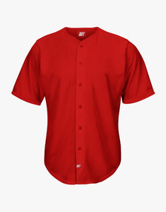 Basic Baseball Shirt (Red)