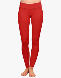 Basic Leggings (Red)