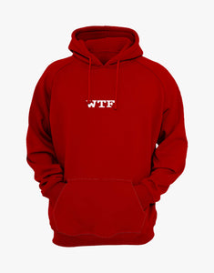 WTF OVERSIZED HOODIE (RED)