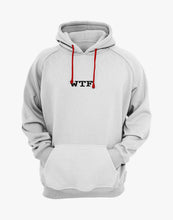 Load image into Gallery viewer, WTF OVERSIZED HOODIE (WHITE)