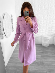 TRENCH COAT LILAS