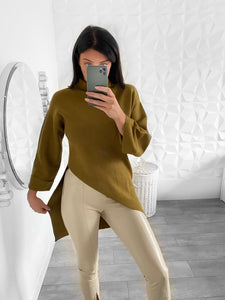 Pull donna olive