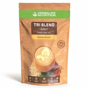 Tri Blend Select - Preparato proteico solubile in acqua Banana 600 g - Prodotti Herbalife Online