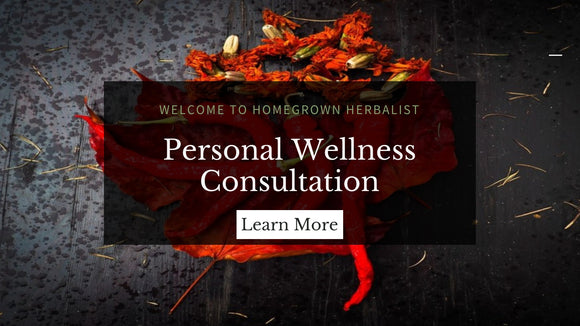 Personal Wellness consultation banner link