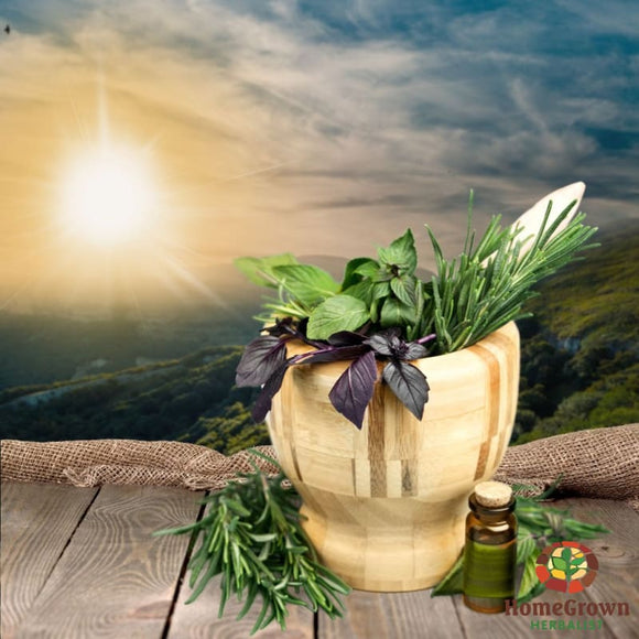 Cold Away - Herb Formula Homegrown Herbalist Emergency & First Aid Formulas Respiratory Formulas