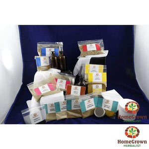 Medicine Makers Kit & Online Lessons - Herb Kits HomeGrown Herbalist herb kit