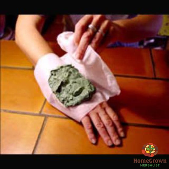 Poultice - Herb Formula HomeGrown Herbalist Emergency & First Aid Formulas topical