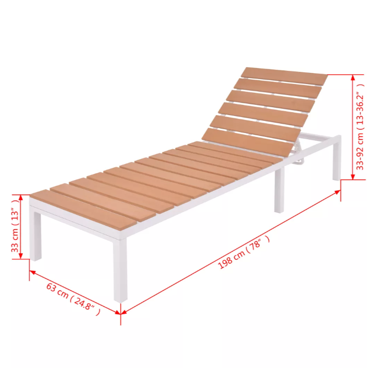 LuxerLiving™ Outdoor Patio Furniture Set Lounge Sofa Table Sunlounger