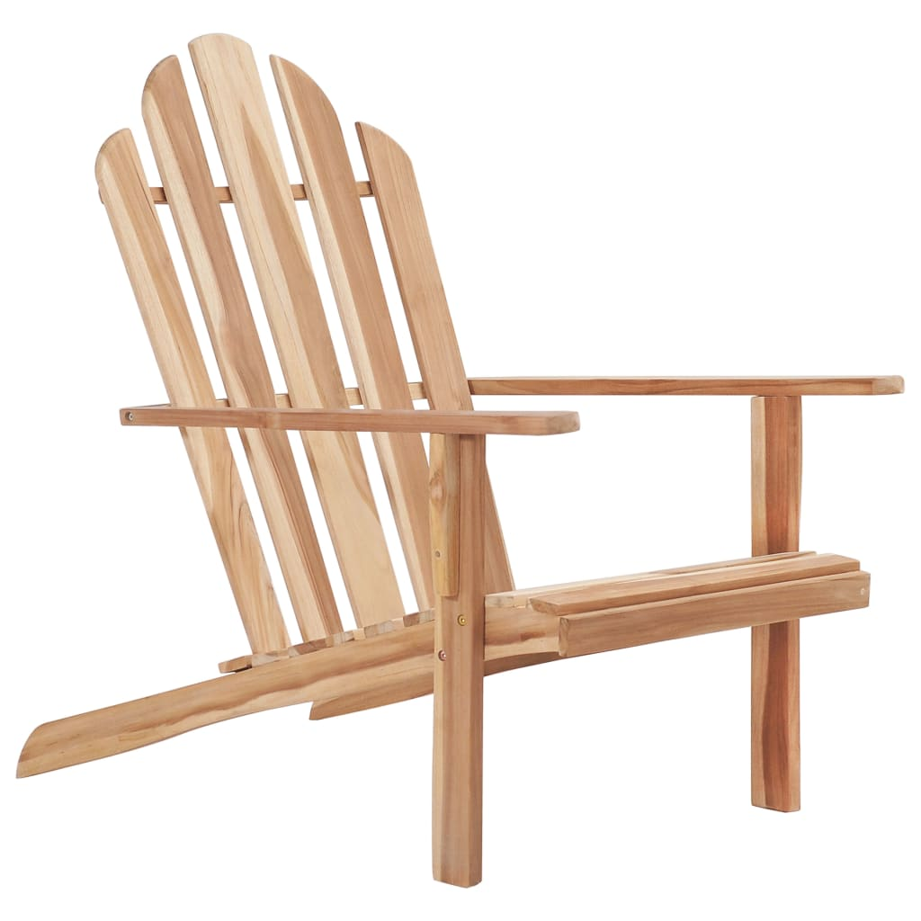 LuxerLiving™ Adirondack Chair Teak