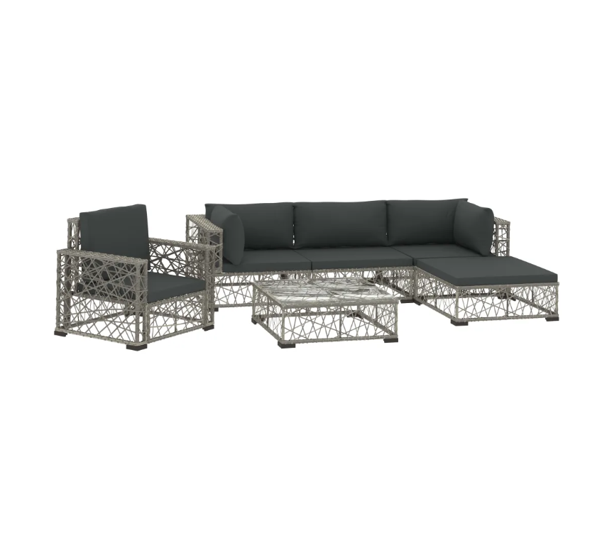 LuxerLiving™ Outdoor Lounge Patio Furniture Set Modern Sofa With Chair