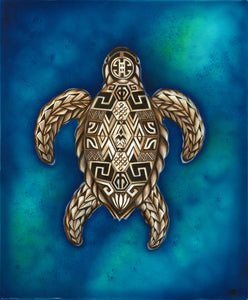 Honu Sea Turtle Original Painting