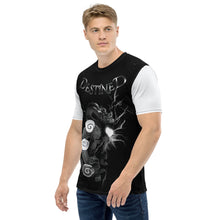 Load image into Gallery viewer, Destined Dragon Pearl White Black Lightning Men's T-shirt