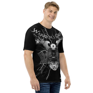 Warrior's Creed Samurai Helmet Lightning Men's T-shirt
