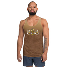 Load image into Gallery viewer, Faded Brown Wear it Strong Mens 888 Tank Top