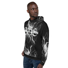 Load image into Gallery viewer, Face Your Fears Oni Mask 888 Lightning Hoodie