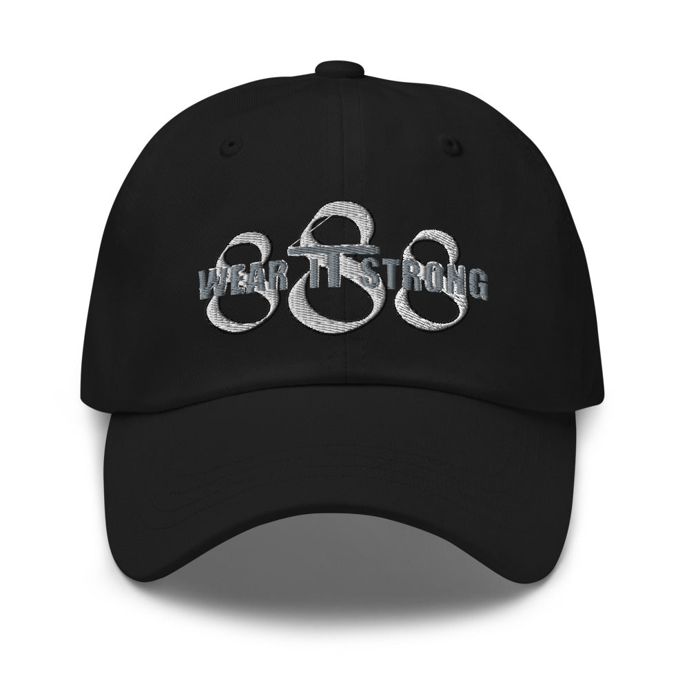 Wear it Strong 888 Roueche Blend Curved Bill Hat
