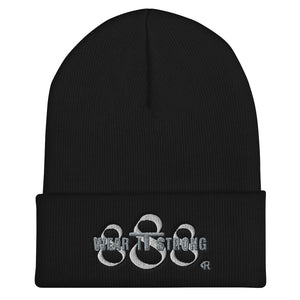 Wear it Strong 888 Cuffed Beanie Hat