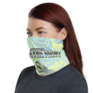 Unite The Fight 888 Positivity Pastel Rainbow Neck Gaiter