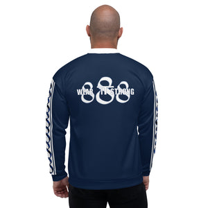 Wear it Strong Infinity 888 Navy Blue Set Jacket