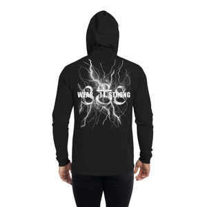 Wear it Strong Fearsome Oni Mask Zip Hoodie