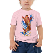 Load image into Gallery viewer, Kaizen Koi Fish 888 Toddler Short Sleeve Tee