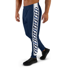 Load image into Gallery viewer, Wear it Strong Infinity 888 Navy Blue Men's Joggers