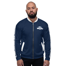 Load image into Gallery viewer, Wear it Strong Infinity 888 Navy Blue Set Jacket