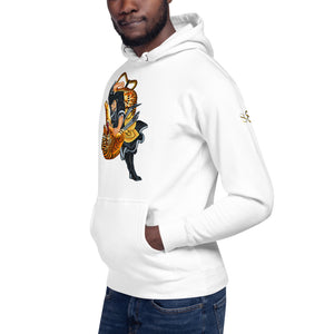 Wear It Strong Kigurai Samurai Fighting Tiger Hoodie
