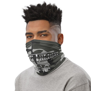 Unite The Fight 888 Positivity Grey Camo Neck Gaiter