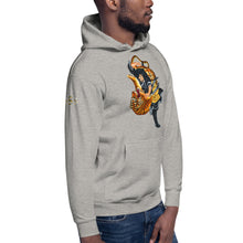Load image into Gallery viewer, Wear It Strong Kigurai Samurai Fighting Tiger Hoodie