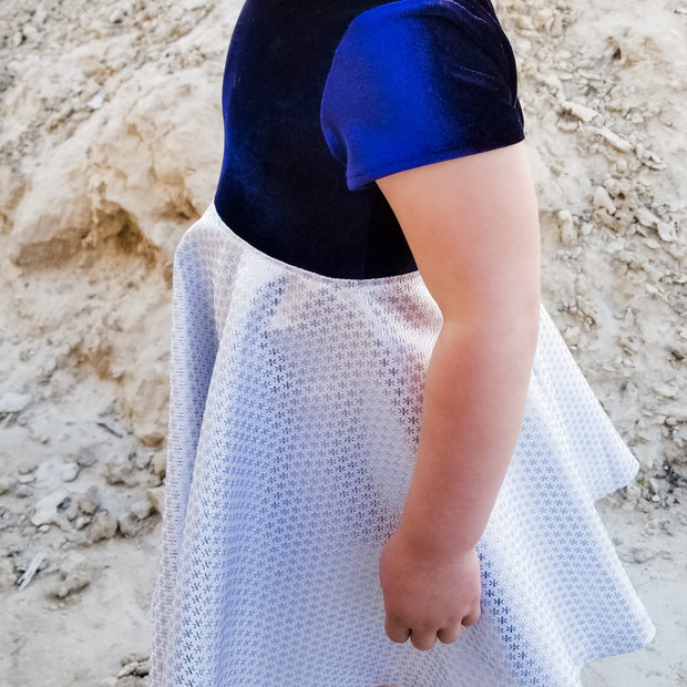 Something Blue Flower Girl Dress
