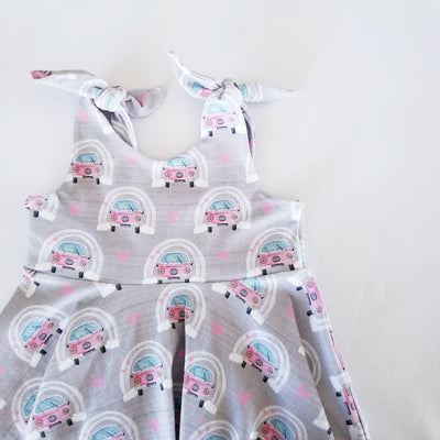Tie Top Twirly Dress