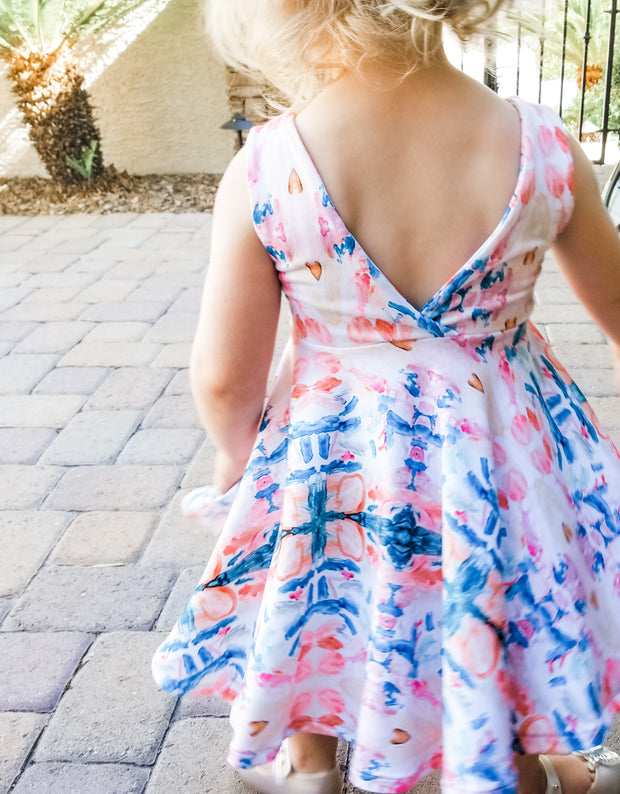 Toddler Art Work Twirl Dress