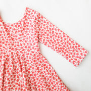 V-Shaped Back Toddler Twirl Dress