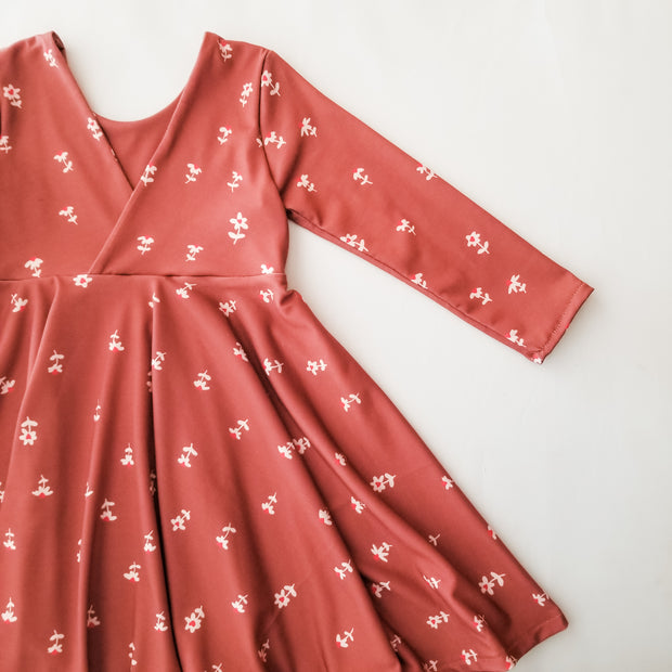 Tiny Hearts Twirl Dress