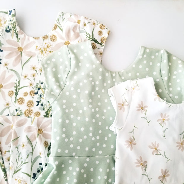 Sweet Daisy Floral Spring Twirl Dress