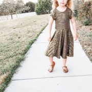 Unique Twirl Dress For GIrls