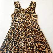 Animal Print Twirl Dress