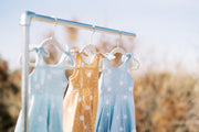 You are my sunshine dress collection in mint, mustard and light blue