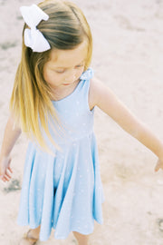 Abstract bird Summer dress for girls