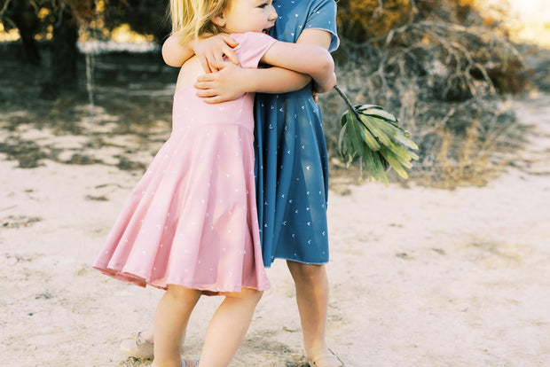 Sibling dresses for family photos