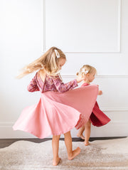 Girls Fall Twirly Dresses