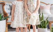 Coordinating Sister Twirl Dresses For Spring