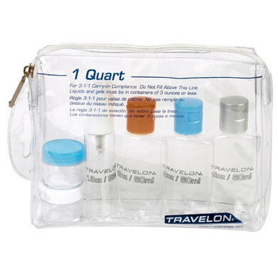 1 Quart Zip Top Bag