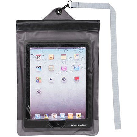 Waterproof pouch for iPad® and Tablets