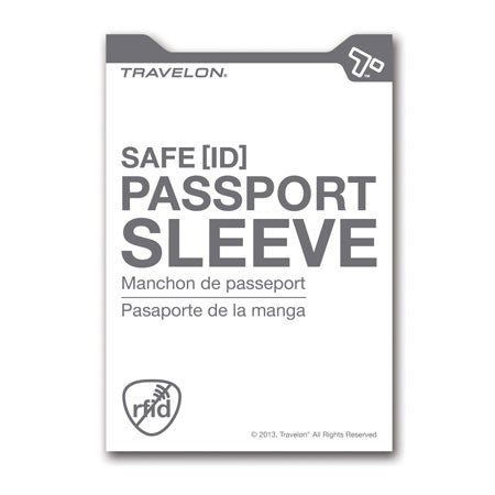 Safe ID Passport Sleeve