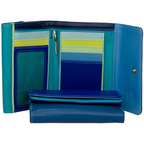 Double Flap Purse/ Wallet