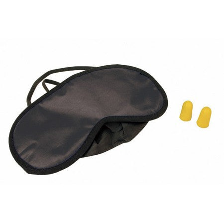 Eye Mask and Set of Ear Plugs