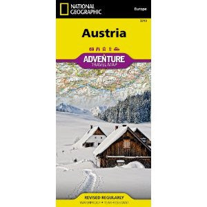 Austria NatGeo Map