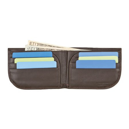 Safe ID Leather Front Pocket Wallet